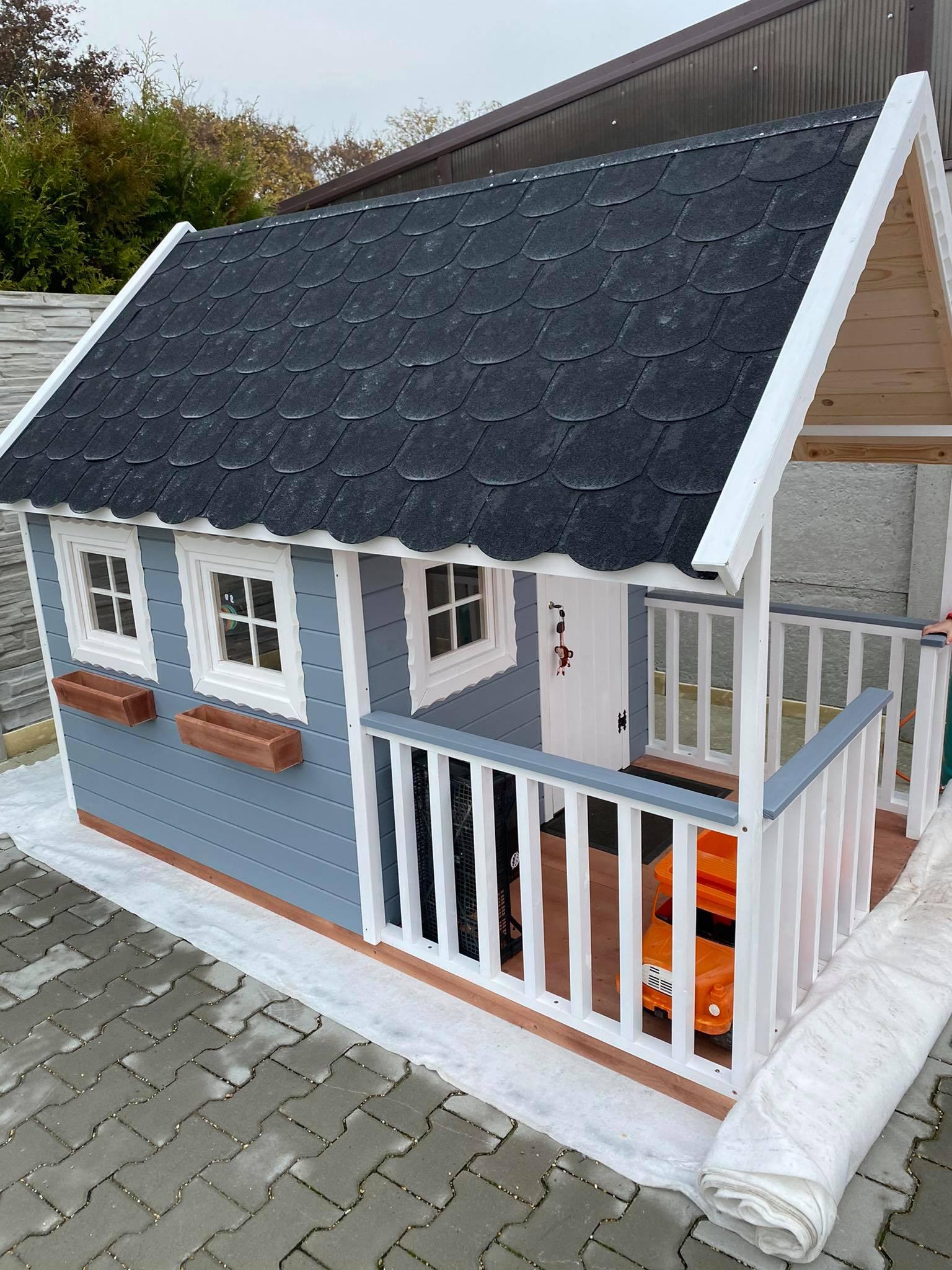 Typ C sotvárateľnými oknami 150x 250 x 200 cm